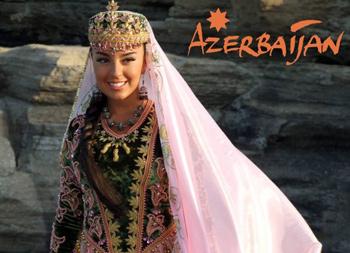 Azerbaycan geleneksel kıyafetler kadınlar